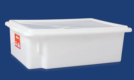 CAIXA PLAST 11LT EMPILHAVEL C/TPA 41X29X13 0430 PLEION